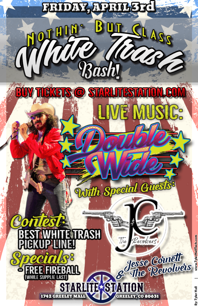 Tickets on sale now! White Trash Bash @ Starlite Station